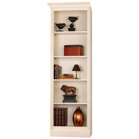 Ty Pennington Oxford Left Return Vanilla Wall Storage Unit