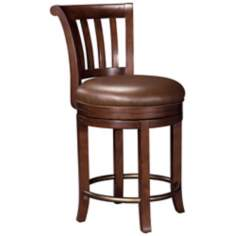 Ty Pennington Ithaca Hampton Cherry Pub Stool