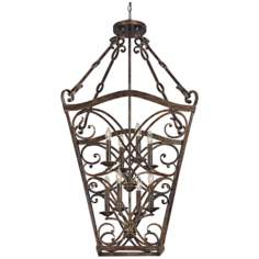 "Reserve Collection 8-Light 25"" Wide Foyer Chandelier"