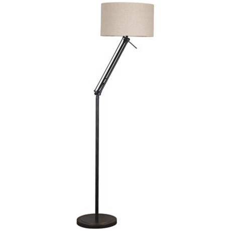 Kenroy Home Hydra Oil Rubbed Bronze Adjustable Floor Lamp