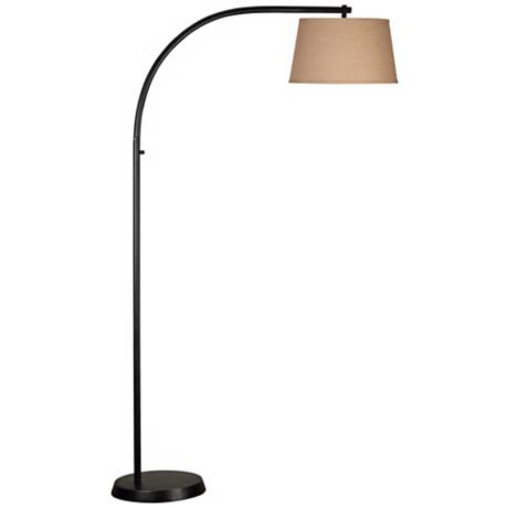 Kenroy Sweep Oil-Rubbed Bronze Finish Arc Floor Lamp