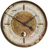 "Leonardo Script Cream 18"" Wide Round Wall Clock"