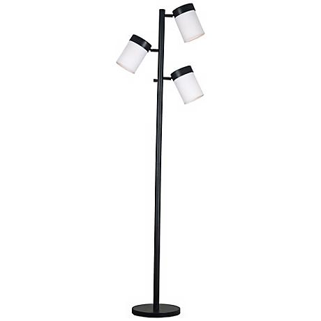 Kenroy Roarke Oil-Rubbed Bronze 3-Light Floor Lamp