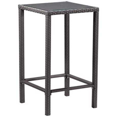 "Anguilla Outdoor 43"" High Square Pub Table"