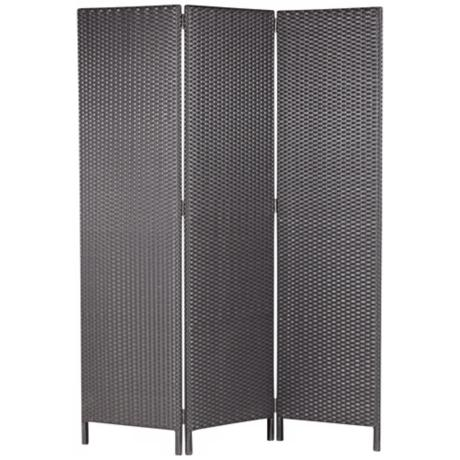 "Cancun 71"" High Outdoor Tri-fold Screen"