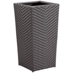 "Cancun 34 1/2"" High Outdoor Tall Planter"