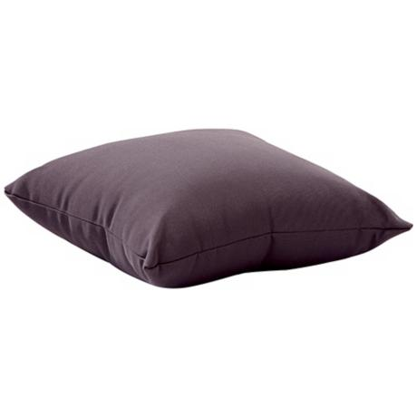 "Laguna Gray 18"" Square Outdoor Pillow"