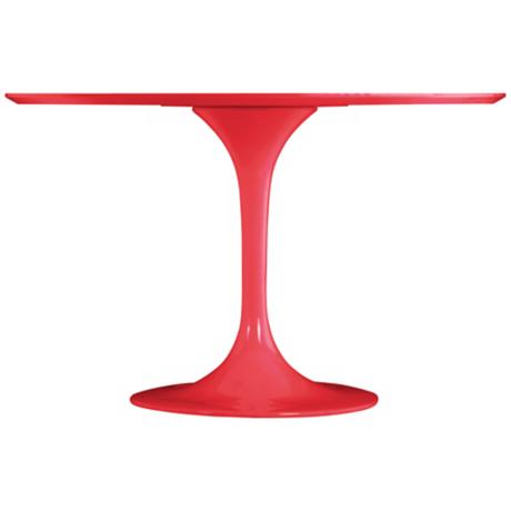 Zuo Wilco Red Dining Table