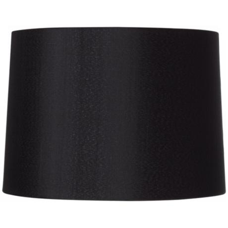 Black Hardback Drum Shade 13x14x10 (Spider)