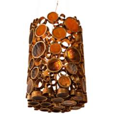 Varaluz Fascination Kolorado Reclaimed Glass 3-Light Pendant