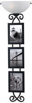 "Kenroy Gallery 40"" High Picture Frame Plug-In Wall Light (R8744)"