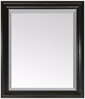 "Avanity Milano Black 30"" Wide Rectangular Wall Mirror (R8988) R8988"