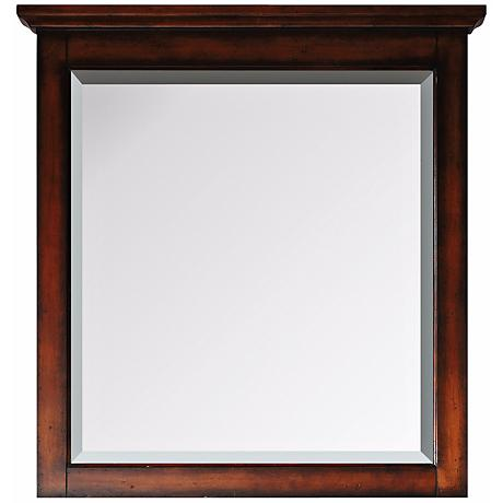 "Avanity Tropica Antique Walnut 32"" High Vanity Wall Mirror"
