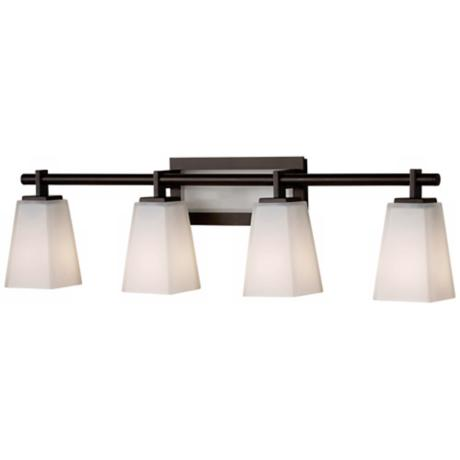 Feiss Clayton 31 1 2 Wide Bathroom Light Fixture R9264