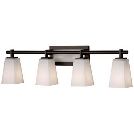 Feiss Clayton 31 1 2 Wide Bathroom Light Fixture