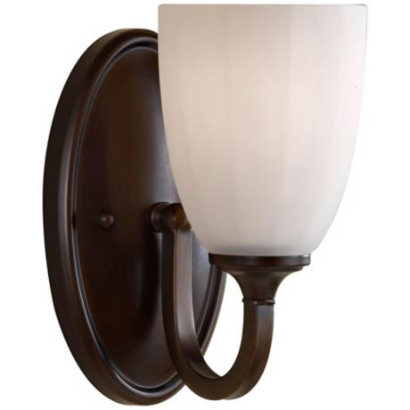 "Murray Feiss Perry 8 3/4"" High Heritage Bronze Wall Sconce"