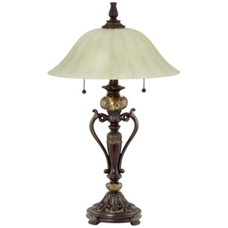 "Kathy Ireland Amor Collection 26"" High Accent Table Lamp"