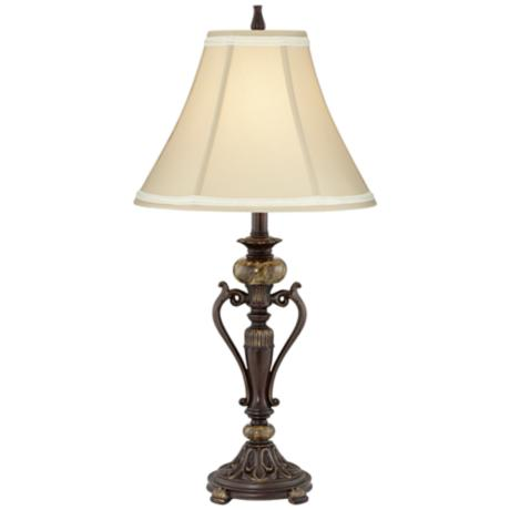 "Kathy Ireland Amor Collection 29"" High Accent Table Lamp"