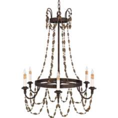 Quoizel Jullian Mayan Gold Chandelier