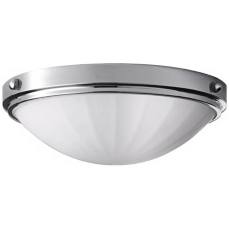 "Murray Feiss Perry Chrome13"" Wide Flushmount Ceiling Light"