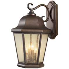 "Murray Feiss Martinsville 20"" High Outdoor Wall Lantern"