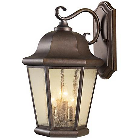 "Feiss Martinsville 20"" High Outdoor Wall Lantern"