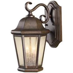 "Murray Feiss Martinsville 14 1/2"" High Outdoor Wall Lantern"