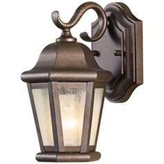 "Murray Feiss Martinsville 10 3/4"" High Outdoor Wall Lantern"