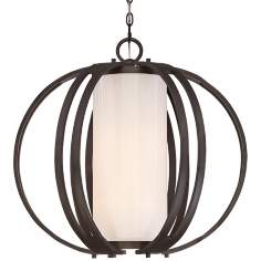 Quoizel Barstow Iron Gate Pendant Light