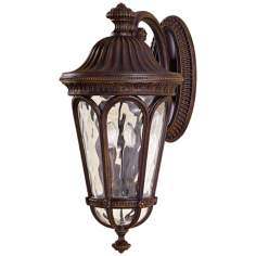 "Murray Feiss Regent Court 25"" High Outdoor Wall Lantern"