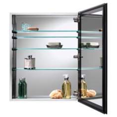 Broan Gallery Stainless Steel Bathroom Medicine Cabinet
