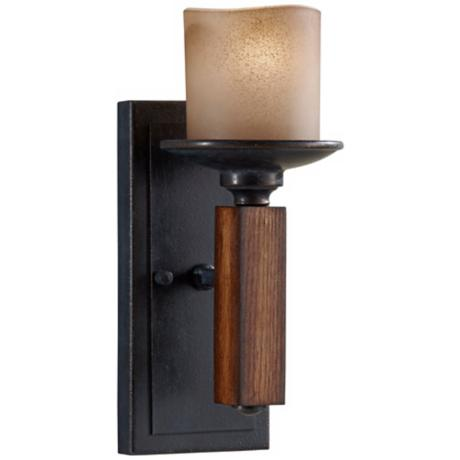 "Murray Feiss Madera 12 3/4"" High Wall Sconce"