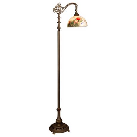 Dale Tiffany Rose Dome Downbridge Floor Lamp