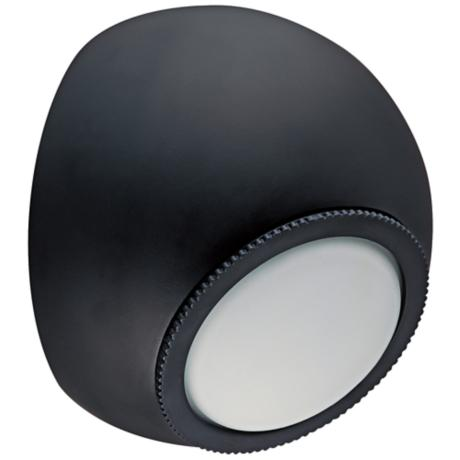 "CSL Orb Bronze 5 1/4"" Wide LED Wall Light"
