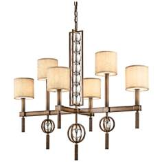 "Kichler Celestial Cambridge Bronze 44"" Wide Chandelier"
