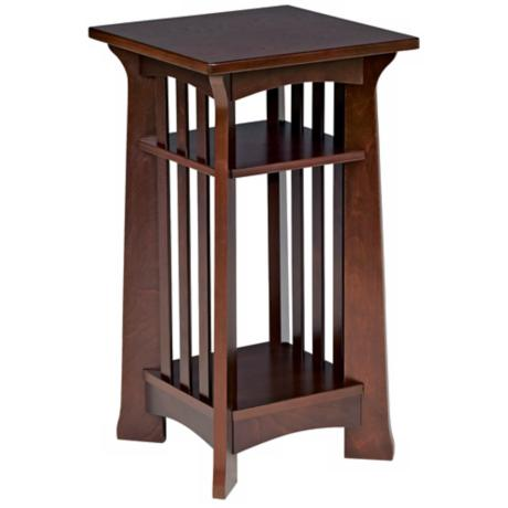 Edgewater Collection Espresso Finish Plant Stand