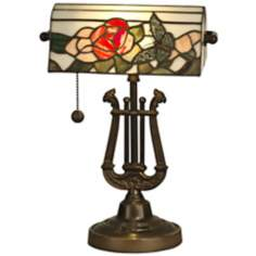 Dale Tiffany Broadview Tiffany Style Banker's Lamp