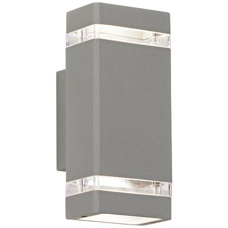 Possini Euro Rectangular Up/Down Outdoor Wall Light