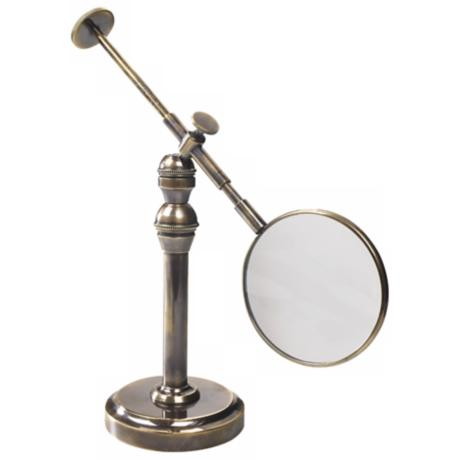 Empress Brass and Bronze Magnifying Reading Glass