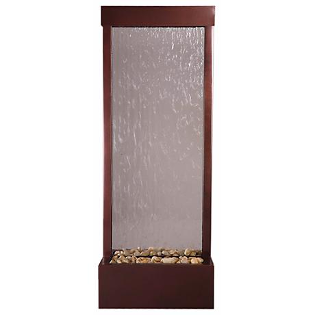 "Gardenfall Glass and Copper 48"" High Indoor/Outdoor Fountain"