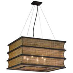 "Bento Collection 24"" Wide Pendant Chandelier"