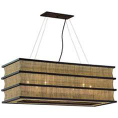 "Bento Collection 40"" Wide Kitchen Island Chandelier"