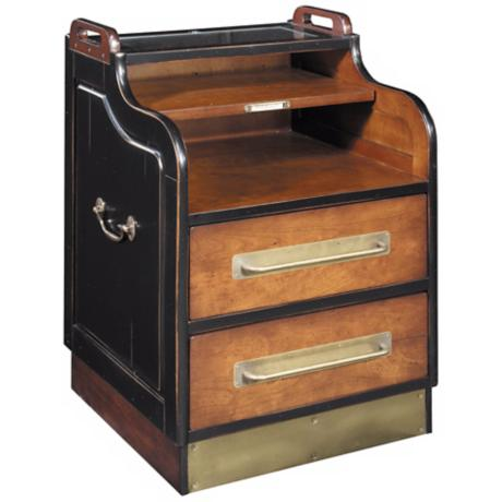 Grand Hotel Brown & Black Cabinet