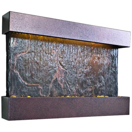 Horizon Falls Medium Coppervein Indoor Wall Fountain