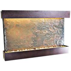 Horizon Falls Large Coppervein Indoor Wall Fountain