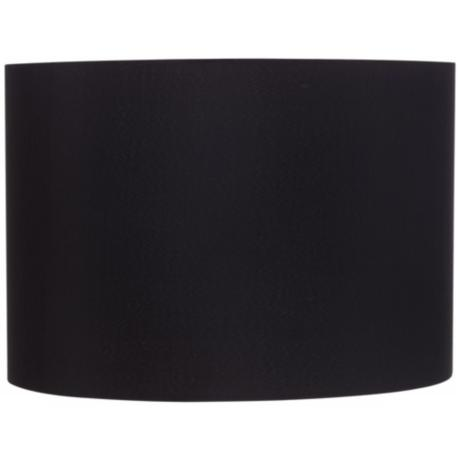 Black Hardback Drum Shade 16x16x11 (Spider)