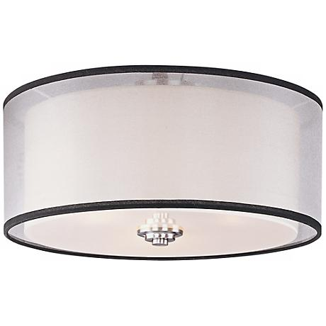 "Maxim Orion 15"" Wide Flushmount Ceiling Light"