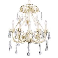 Pink Ballroom 5-Light Chandelier