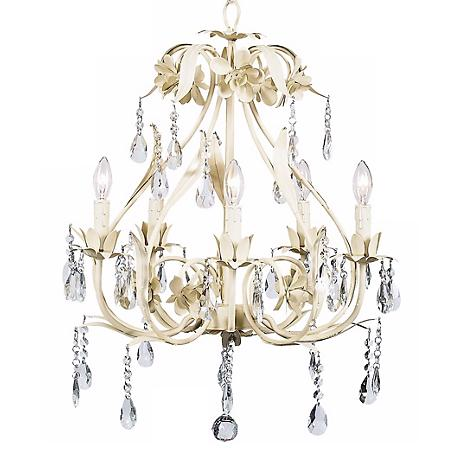 Ivory Ballroom 5-Light Chandelier