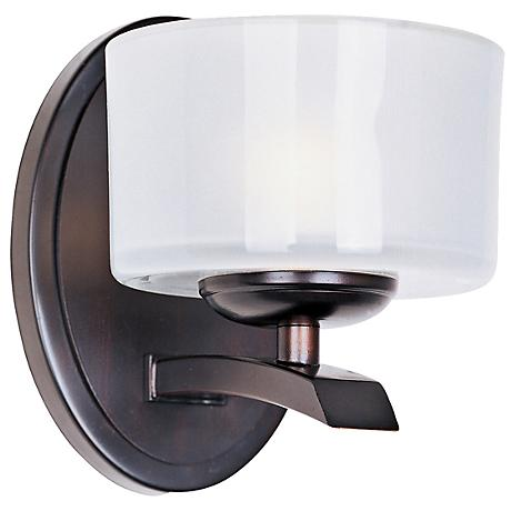"Maxim Elle Collection Bronze 6 1/2"" High Wall Sconce"